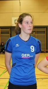Erfolgreiches Debut: Nadine Willig bestritt ihr erstes komplettes Bezirksklasse Spiel