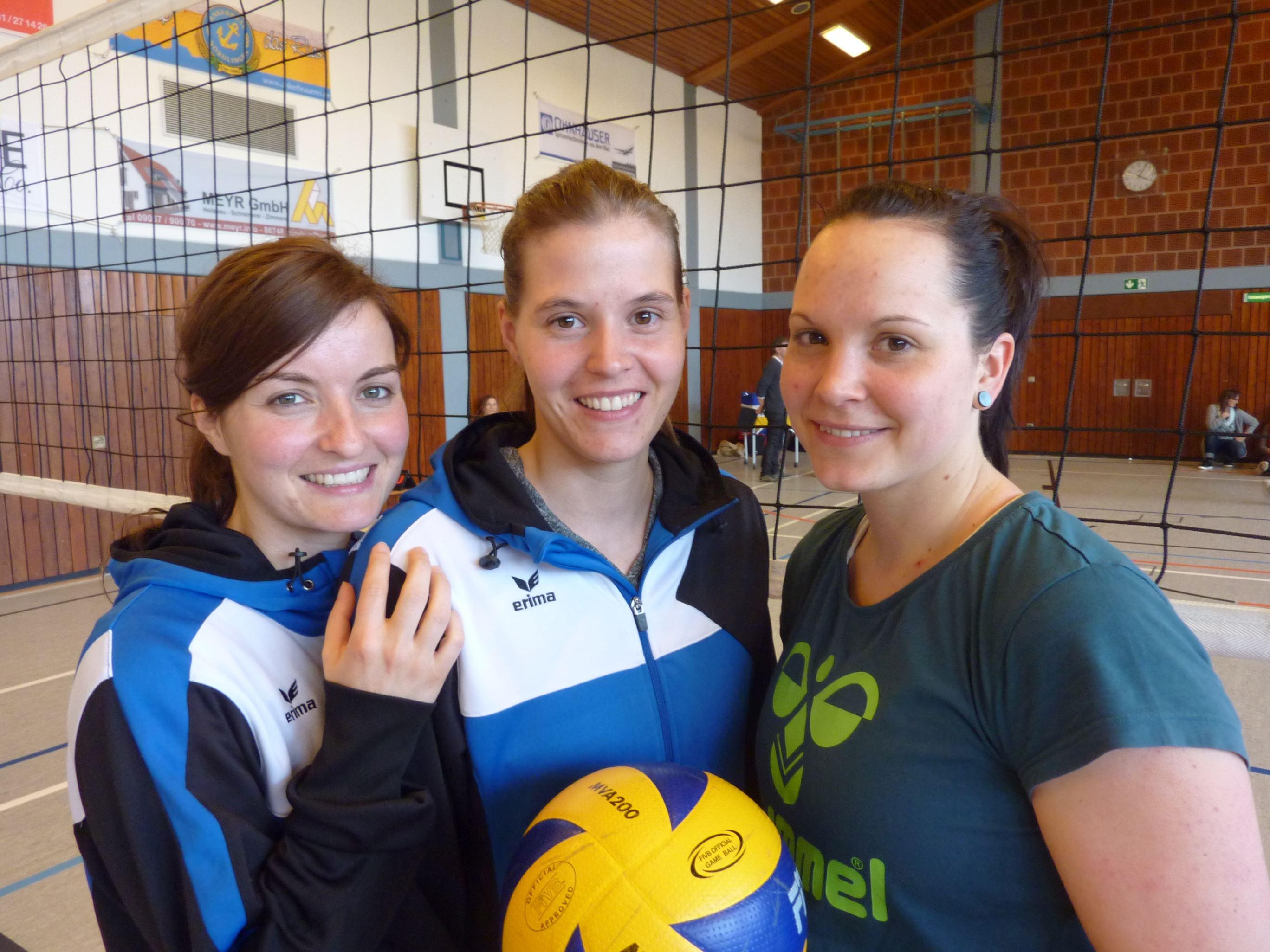 Regionalliga – Damen 1 – Drei, die sich verstehen